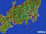 アメダス実況(気温)(2020年08月27日)