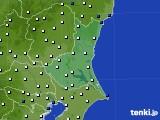 茨城県のアメダス実況(風向・風速)(2020年08月28日)