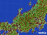 アメダス実況(気温)(2020年08月30日)