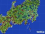 関東・甲信地方のアメダス実況(日照時間)(2020年08月31日)