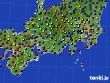 2020年08月31日の東海地方のアメダス(日照時間)