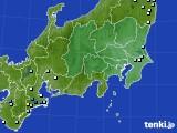 関東・甲信地方のアメダス実況(降水量)(2020年09月01日)
