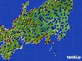 関東・甲信地方のアメダス実況(日照時間)(2020年09月01日)
