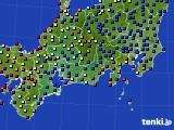 2020年09月01日の東海地方のアメダス(日照時間)
