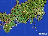 2020年09月01日の東海地方のアメダス(気温)