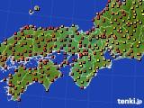 近畿地方のアメダス実況(気温)(2020年09月01日)