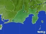 静岡県のアメダス実況(降水量)(2020年09月02日)