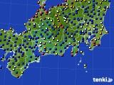 2020年09月02日の東海地方のアメダス(日照時間)