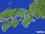 近畿地方のアメダス実況(風向・風速)(2020年09月02日)
