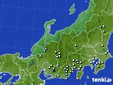 北陸地方のアメダス実況(降水量)(2020年09月03日)