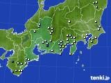 東海地方のアメダス実況(降水量)(2020年09月03日)
