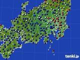 関東・甲信地方のアメダス実況(日照時間)(2020年09月03日)