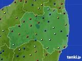 福島県のアメダス実況(日照時間)(2020年09月03日)