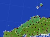 島根県のアメダス実況(気温)(2020年09月03日)