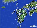 九州地方のアメダス実況(風向・風速)(2020年09月03日)