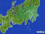 2020年09月04日の関東・甲信地方のアメダス(降水量)
