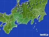 東海地方のアメダス実況(降水量)(2020年09月04日)
