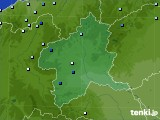 群馬県のアメダス実況(降水量)(2020年09月04日)