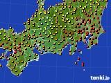 2020年09月04日の東海地方のアメダス(気温)
