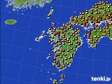 九州地方のアメダス実況(気温)(2020年09月04日)