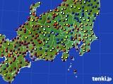 関東・甲信地方のアメダス実況(日照時間)(2020年09月05日)
