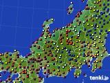 北陸地方のアメダス実況(日照時間)(2020年09月05日)