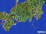 2020年09月05日の東海地方のアメダス(日照時間)