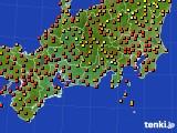 2020年09月05日の東海地方のアメダス(気温)