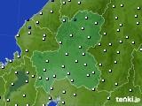 2020年09月05日の岐阜県のアメダス(風向・風速)