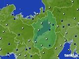 2020年09月06日の滋賀県のアメダス(風向・風速)
