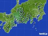 2020年09月07日の東海地方のアメダス(降水量)