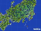 関東・甲信地方のアメダス実況(日照時間)(2020年09月07日)