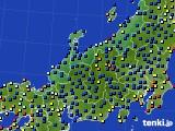 北陸地方のアメダス実況(日照時間)(2020年09月07日)
