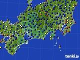 2020年09月07日の東海地方のアメダス(日照時間)