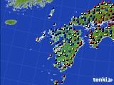 九州地方のアメダス実況(日照時間)(2020年09月07日)