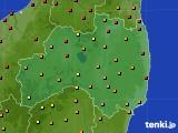 福島県のアメダス実況(気温)(2020年09月07日)