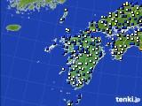 九州地方のアメダス実況(風向・風速)(2020年09月07日)