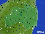 福島県のアメダス実況(風向・風速)(2020年09月07日)