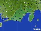 静岡県のアメダス実況(風向・風速)(2020年09月07日)