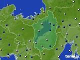 2020年09月07日の滋賀県のアメダス(風向・風速)