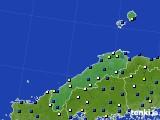 島根県のアメダス実況(風向・風速)(2020年09月07日)