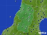 山形県のアメダス実況(風向・風速)(2020年09月07日)