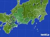 東海地方のアメダス実況(降水量)(2020年09月09日)