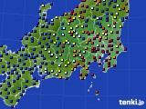 関東・甲信地方のアメダス実況(日照時間)(2020年09月09日)