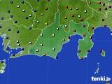 静岡県のアメダス実況(日照時間)(2020年09月09日)