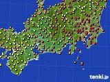 2020年09月09日の東海地方のアメダス(気温)