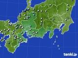 2020年09月11日の東海地方のアメダス(降水量)