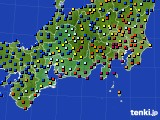 2020年09月11日の東海地方のアメダス(日照時間)