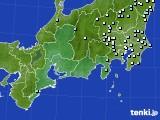 2020年09月12日の東海地方のアメダス(降水量)