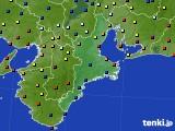 三重県のアメダス実況(日照時間)(2020年09月12日)